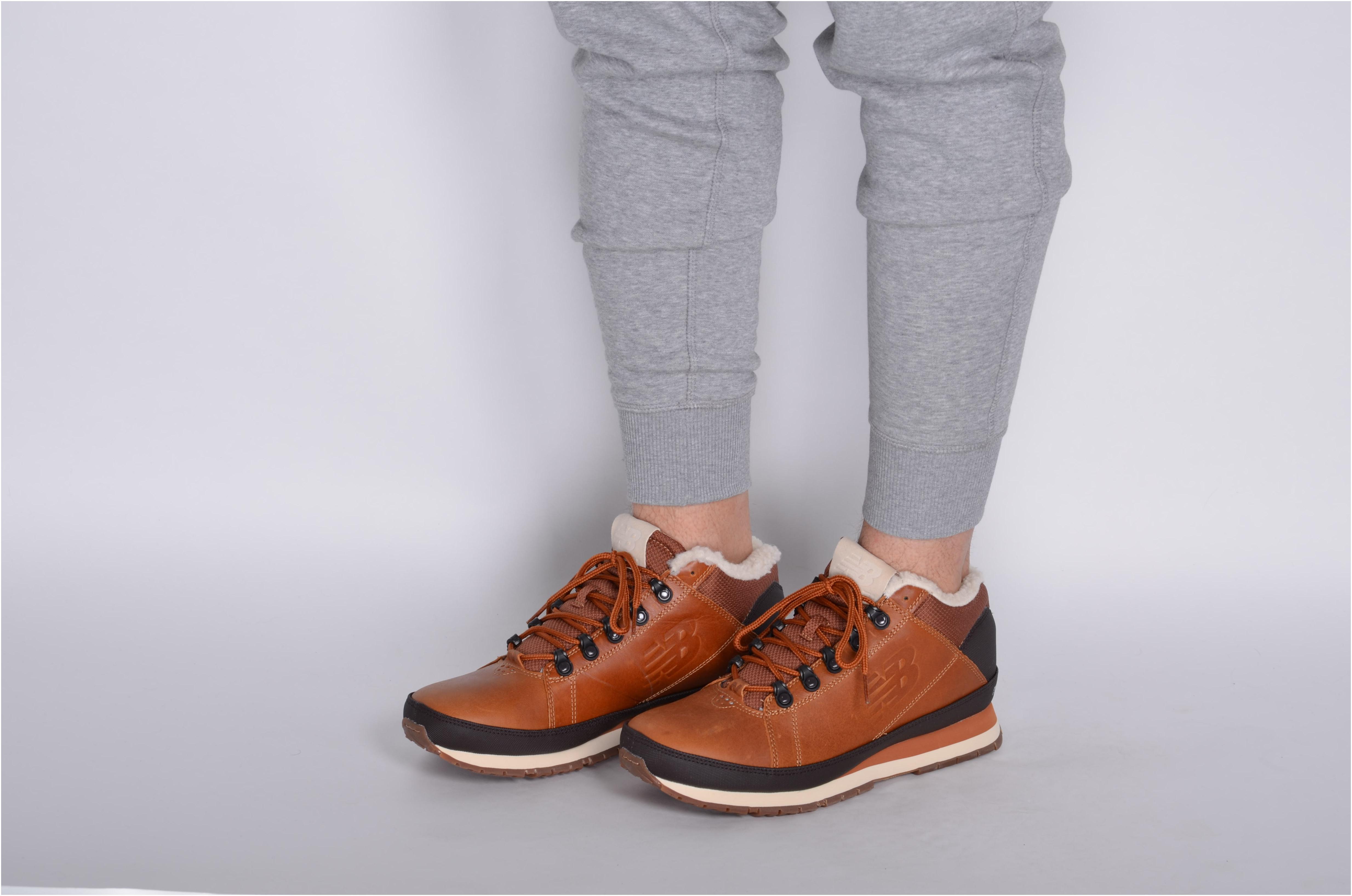 Pánske členkové topánky New Balance H754LFT hnedé  a62ee363401