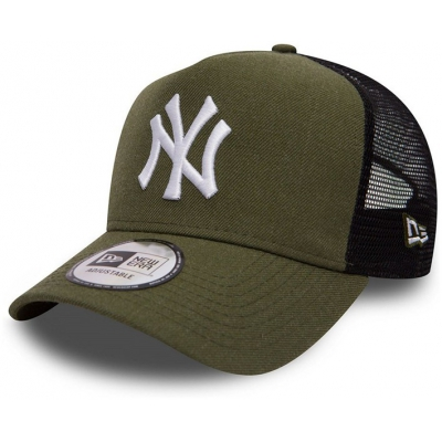 9FORTY SEAS HEATHER AFRAME TRUCKER NEW YORK YANKEES