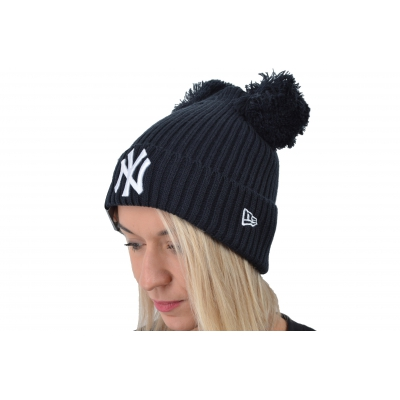 MLB WOMENS DOUBLE POM CUFF NEW YORK YANKEES W