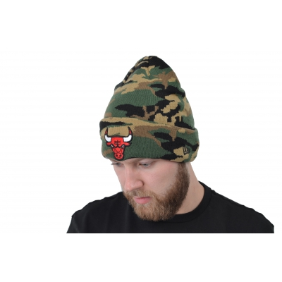 NBA ESSENTIAL CAMO KNIT CHICAGO BULLS