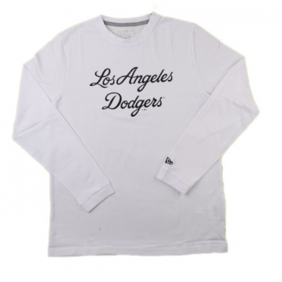MLB SCRIPT LS TEE LOS ANGELES DODGERS