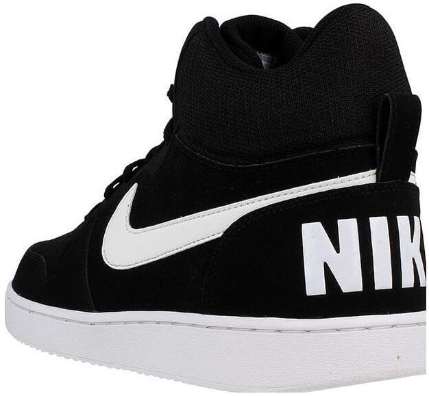 5479333188daf Pánske tenisky Nike COURT BOROUGH MID čierne | Snipit.sk