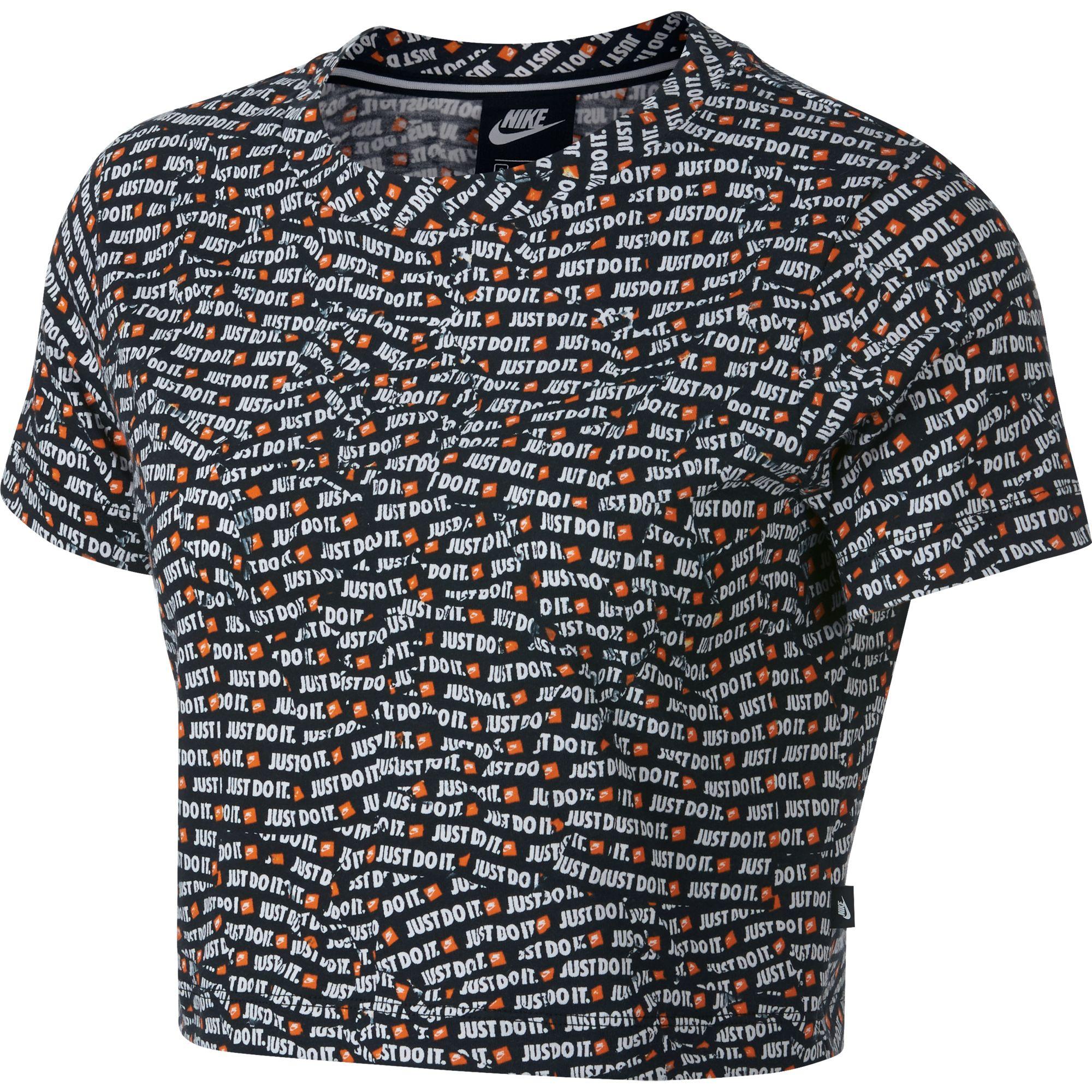63054471fedb Dámske tričko Nike NSW TOP SS CROP JDI W čierne