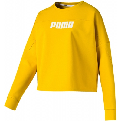 NU-TILITY CROPPED CREW SWEAT W